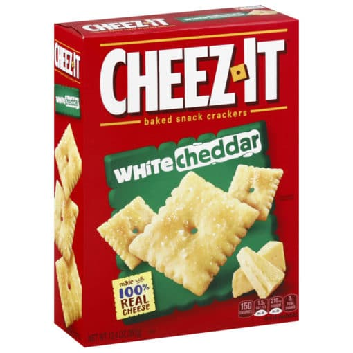 Cheez-It White Cheddar kaassnack 198g.