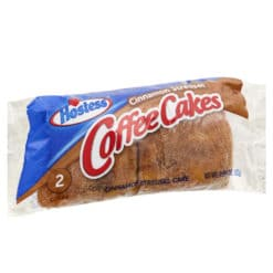 Hostess Coffee Cakes Cinnamon Streusel 2 pack 82g.