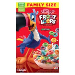 Kelloggs Froot Loops Family Size 550g.