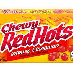 Red Hots Intense Cinnamon Chewy 142g.