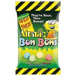 Toxic Waste Atomic Bon Bons Sour Candy 150g.