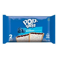 Kellogg's Pop-tarts Blueberry Frosted 2x.