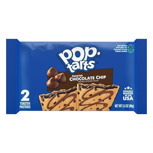 Kellogg's Pop-tarts Chocolate Chips Frosted 2x.