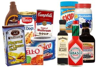 Product categorie Amerikaans eten en Engels Shop America.