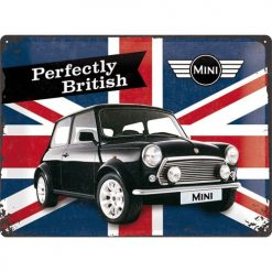 Nostalgic Art Tin Sign Mini Union Jack Perfectly British 40x30