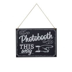 Ginger Ray Photo Booth Sign Krijtbord