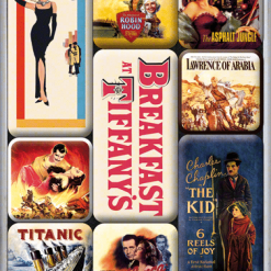 Nostalgic Art Magneetset Hollywood Movie Art (9x)