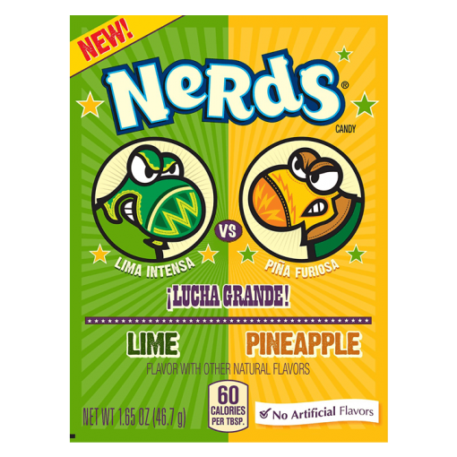 Wonka Nerds Dulceria Lime and Pineapple