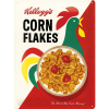 Nostalgic Art Tin Sign Kelloggs Corn Flakes Logo 30x40