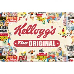Nostalgic Art Tin Sign Kellogg's The Original 30x20