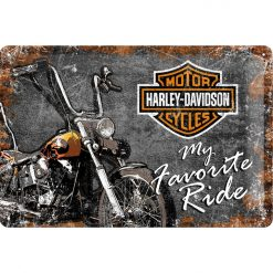 Nostalgic Art Tin Sign Harley Davidson My Favorite Ride 30x20