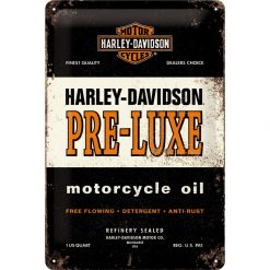 Nostalgic Art Tin Sign Harley Davidson Motorcycle Oil 20x30