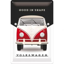 Nostalgic Art Tin Sign Volkswagen Good Shape 20x30 cm