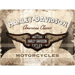 Nostalgic Art Tin Sign Harley Davidson Motorcycles 40x30