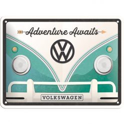 Nostalgic Art Tin Sign Volkswagen Bulli Adventure 20x15 cm