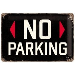 Nostalgic Art Tin Sign No Parking 30x20
