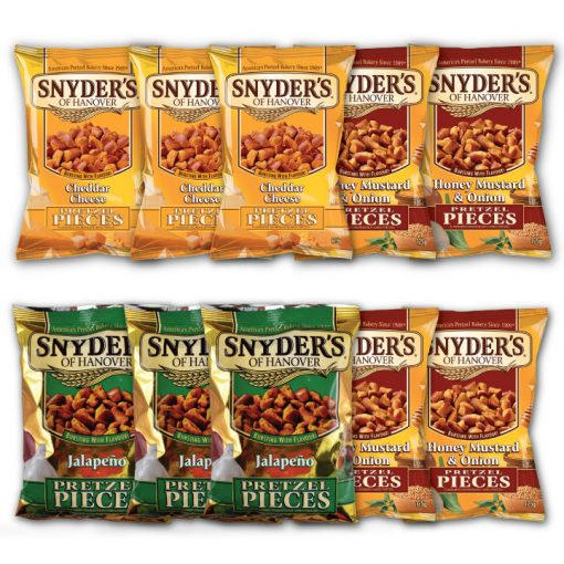 Snyders of Hanover Pretzel Pieces Crunch Pakket 4+3+3