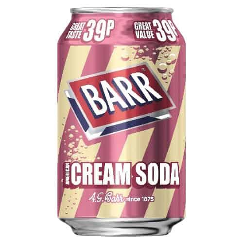 Barr Cream Soda 330ml