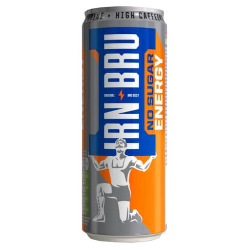 Barr Irn Bru Energy No Sugar 330ml