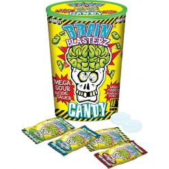 Brain Blasterz Sour Candy Container