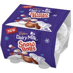 Cadbury Dairy Milk Snowballs 4 pack