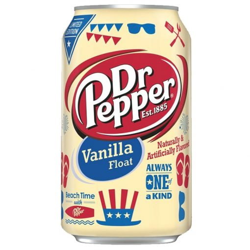 Dr Pepper Vanilla Float Limited Edition USA 355ml