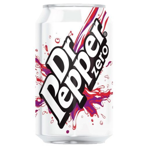 Dr Pepper Zero UK 330ml