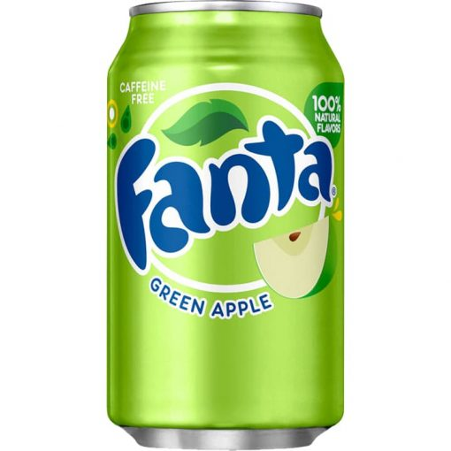 Fanta Green Apple USA 355ml