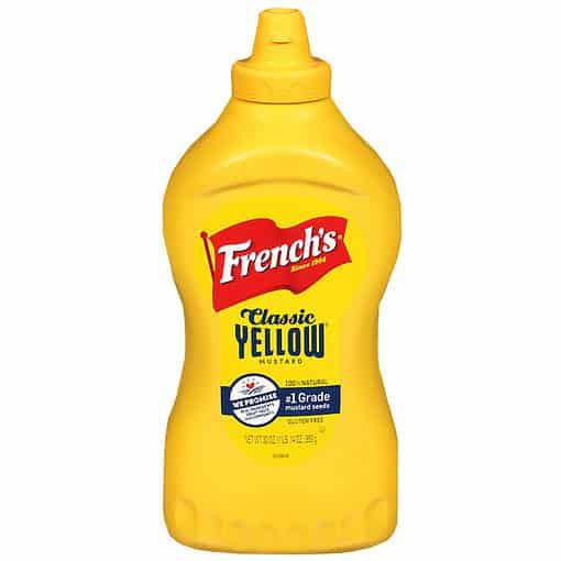 French's Classic Yellow Mustard XL 850 gram