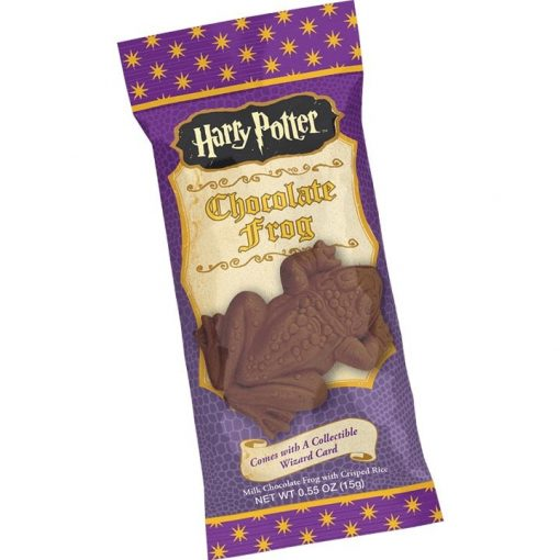 Harry Potter Chocolade Kikker met tovenaarskaart