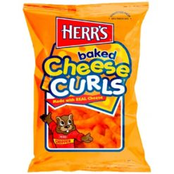 Herrs Baked Cheese Curls 199 gram