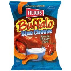 Herrs Buffalo Blue Cheese Curls 198 gram