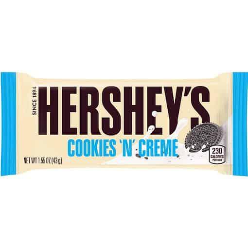 Hersheys Cookies n Creme 43 gram
