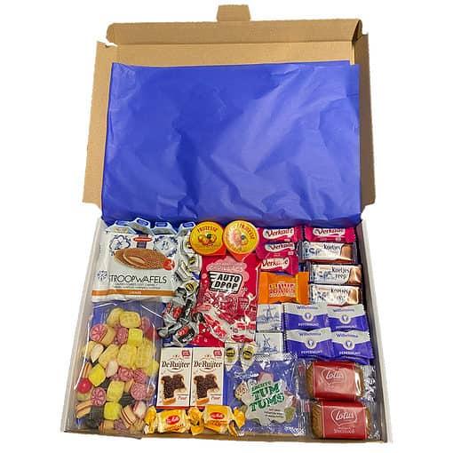Holland box met Nederlandse favoriten - 50 stuks - Large.