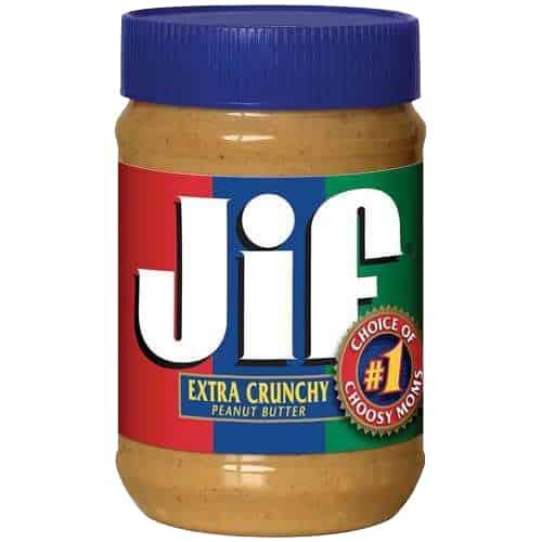 JIF Extra Crunchy Peanut Butter 454 gram
