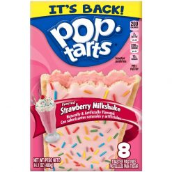 Kelloggs Pop Tarts Strawberry Milkshake