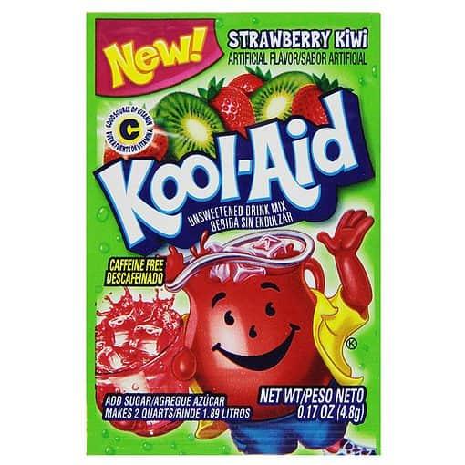 Kool-Aid Strawberry Kiwi mix 1