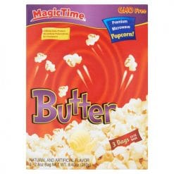 Magic Time Premium Microwave Butter Popcorn