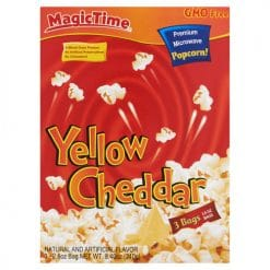 Magic Time Premium Microwave Yellow Cheddar Popcorn