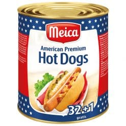Meica American Premium Hot Dogs 32+1 XL