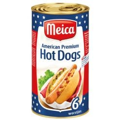 Meica American Premium Hot Dogs 6x