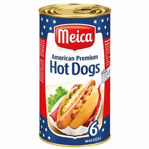 Meica American Premium Hot Dogs 6x