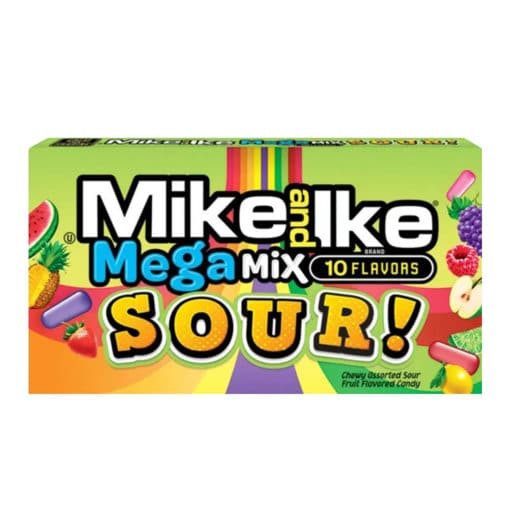 Mike and Ike Mega Mix Sour 142 gram