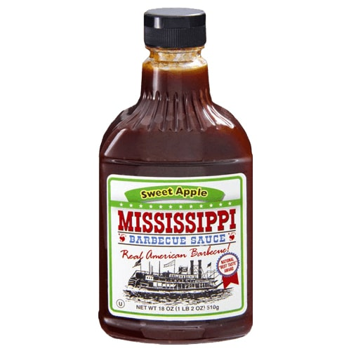 Mississippi BBQ Sauce Sweet Apple