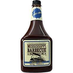 Mississippi BBQ Sauce Sweet n Mild voordeelfles