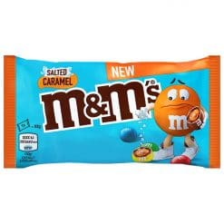 M&M's salted caramel uit de UK