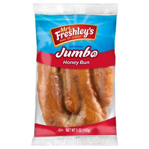Mrs. Freshley's Honey Bun jumbo size 142 gram.