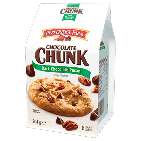 Pepperidge Farm Dark Chocolate Pecan Crispy Cookies