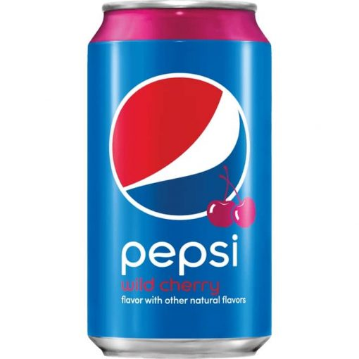 KORTERE THT: Pepsi Wild Cherry USA 355ml