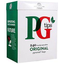 PG tips 240 Pyramide Theezakjes